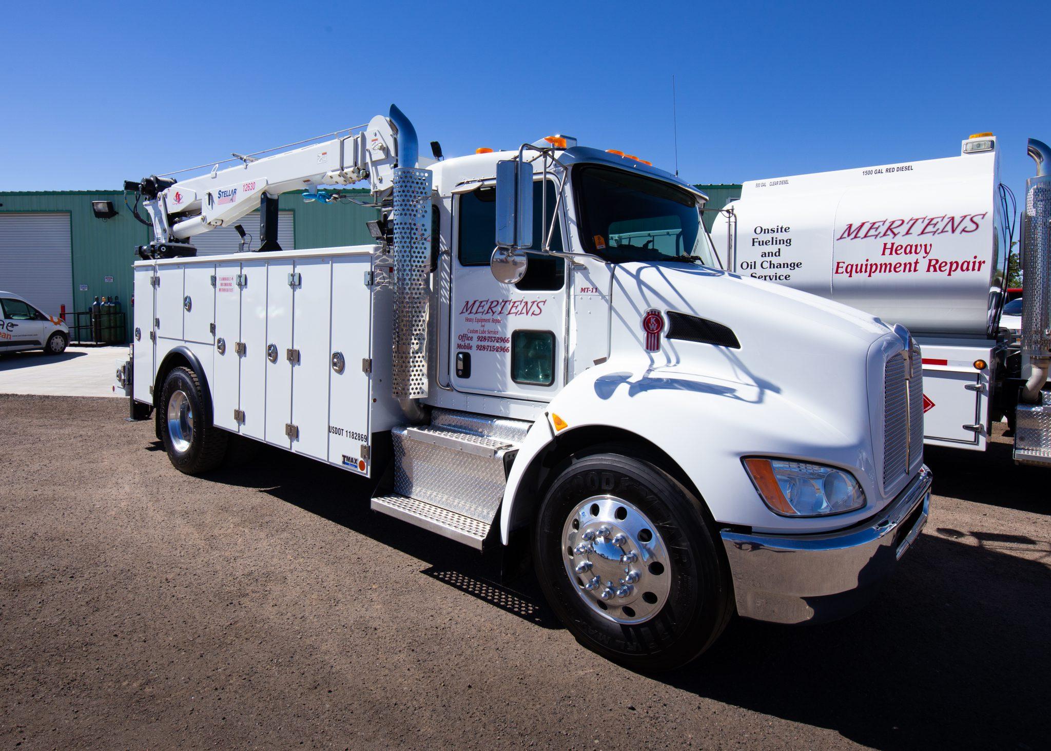 Field Service Repair Offered at Mertens Equipment mertensequipment.com